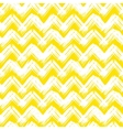Chevron pattern hand painted with bold vector image