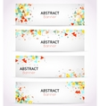 triangle polygonal banners or abstract vector image