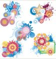 graphic background vector image vector image