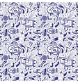 speech bubbles and arrows - seamless pattern vector image vector image