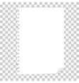 blank page vector image vector image