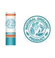 Logo Natural pack vector image vector image