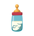 baby feeding bottle vector image