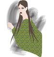 Beautiful woman - vector image