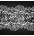 Graphic seashells border vector image