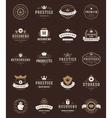 Retro Vintage Premium Quality Labels vector image