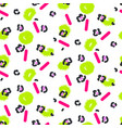 Abstract leopard stain and green spots pattern vector image