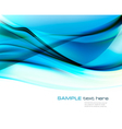 blue transparent abstract background vector image vector image
