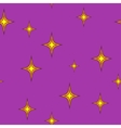 Stars chaotic seamless pattern 304 vector image