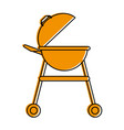 bbq grill equipment vector image