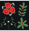 Celebration plant set vector image