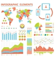 infographics elemetns collection vector image