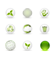 ecology spheres vector image
