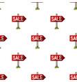 signboard salerealtor single icon in cartoon vector image