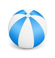Blue Beach Ball vector image vector image