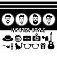 Hipster Vintage vector image