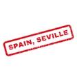Spain Seville Rubber Stamp vector image