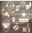 coffee logos vector image