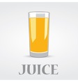 Orange Juice Logo Design vector image
