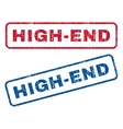 High-End Rubber Stamps vector image