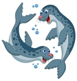 Seal cartoon vector image