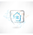 House in the speech bubble vector image
