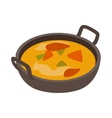 Indian traditional dish icon isometric 3d style vector image