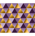 violet color and gold metal texture background vector image