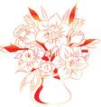 Flowers 2 vector image