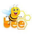 Bee Mascot vector image vector image