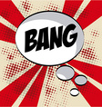comic pop art vector image