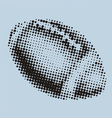 Football ball dots vector image