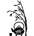 Chinese tea vector image