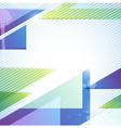 Abstraction for design vector image vector image