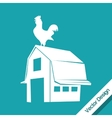 Farm icon design vector image