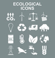 ecology icons concept for vector image