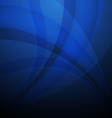 Abstract background with blue lines vector image