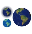 Paper Earth vector image