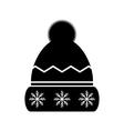 Winter hat icon vector image vector image