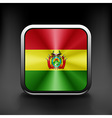 Bolivia icon flag national travel icon country vector image