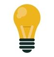 bulb idea innovation intelligence design vector image