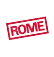 Rome rubber stamp vector image