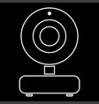web camera it is icon vector image