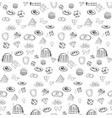 seamless pattern training vector image