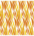 abstract wave red and yellow seamless pattern vector image vector image