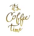 Brown coffee design vector image