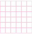 Pink White Grid Chess Board Background vector image