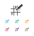 of game symbol on sudoku icon vector image