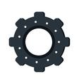 gear wheel engine teamwork vector image