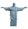 Christ the Redeemer vector image